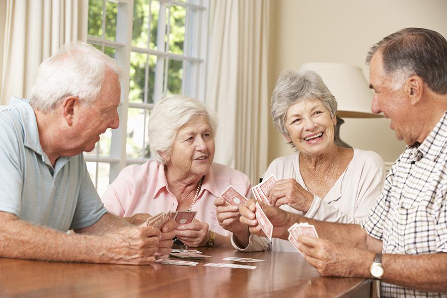 WohnPartner Senioren-Kartenrunde